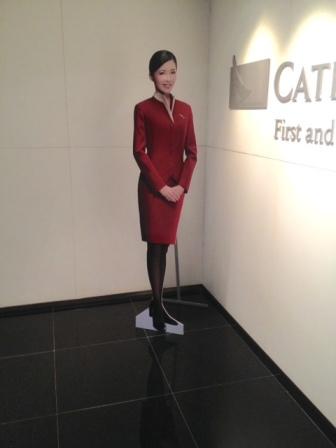 國泰航空空姐立牌