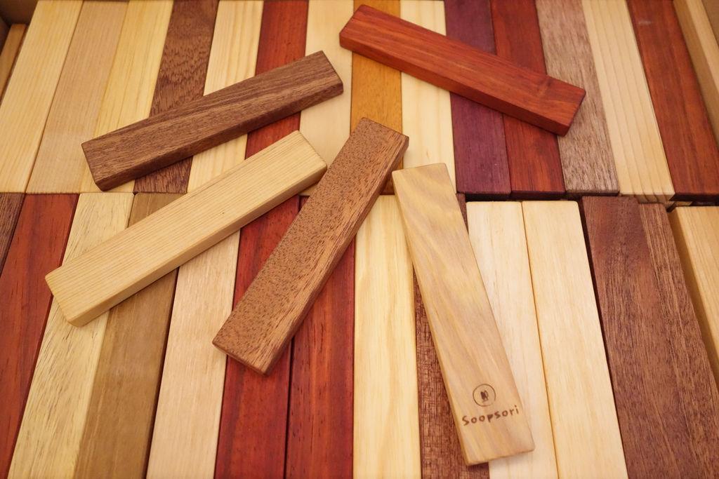 Soopsori原粹木積木,創意建築師