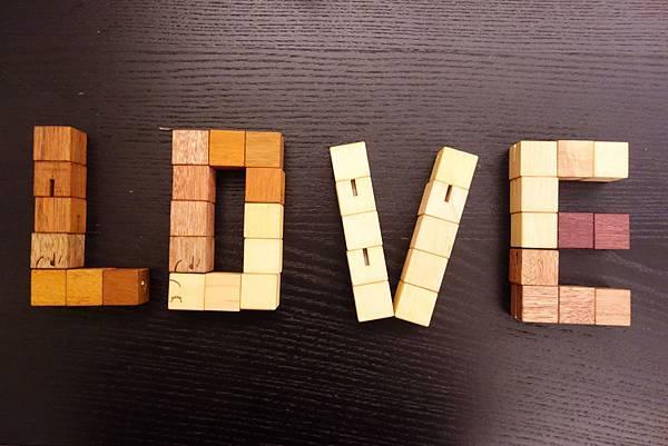Soopsori原粹木積木,百變闖關組,LOVE