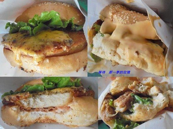0素食-喬治漢堡1