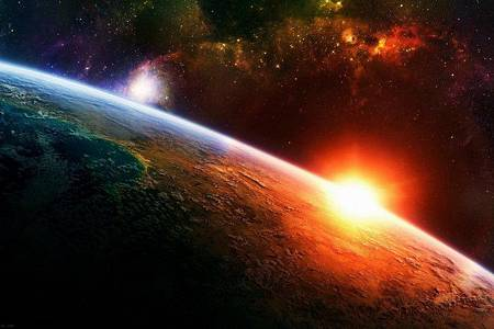 Space-五颜六色,行星,宇宙-485x728