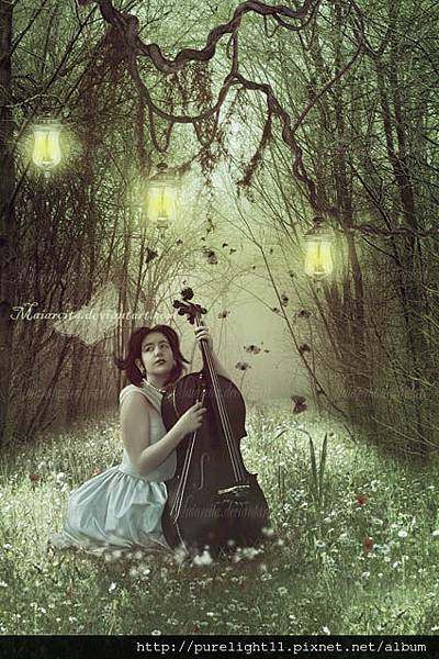 music_in_the_forest_by_maiarcita-d4yn1h8