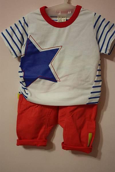 星星T+超彈性小橘褲