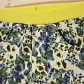 單寧黃花褲