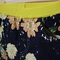 單寧藍花褲2