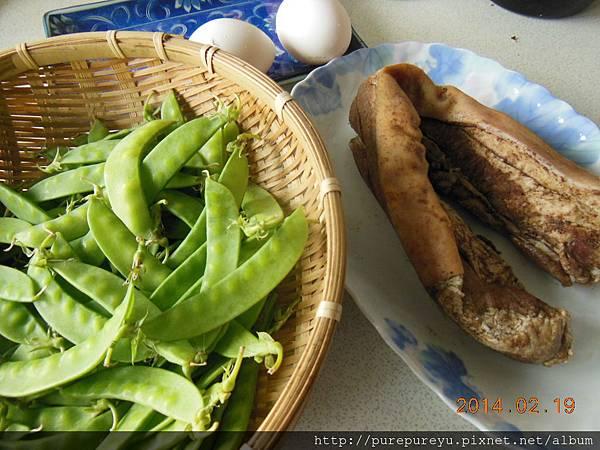 豌豆草炒鹹豬肉1.JPG
