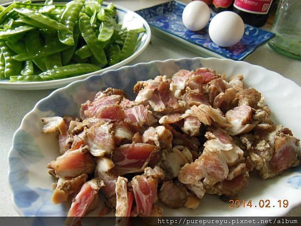 豌豆草炒鹹豬肉2.JPG
