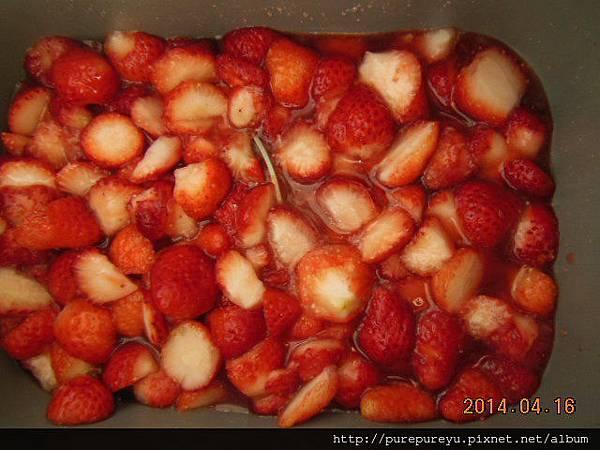 麵包機做草莓果醬.10.JPG