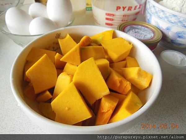 南瓜豆漿磅蛋糕.2.JPG