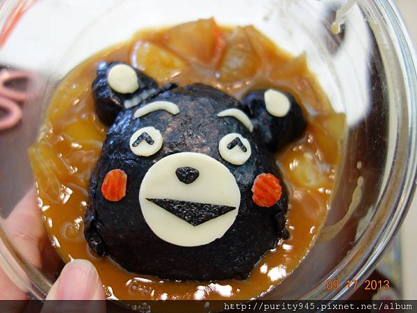 「萌熊」咖哩飯便當