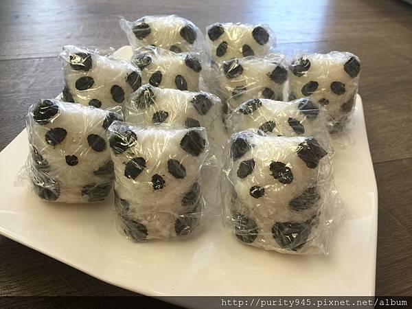 2015.1.22貓熊軍團飯糰