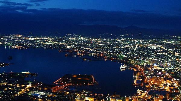 函館的百萬夜景