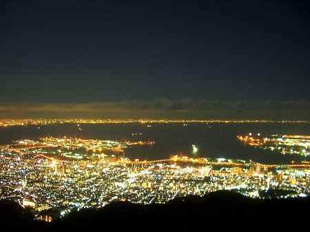 函館的百萬夜景2