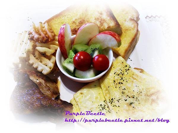 高雄大學附近沐妮之家早午餐拼盤姆雞咕咕