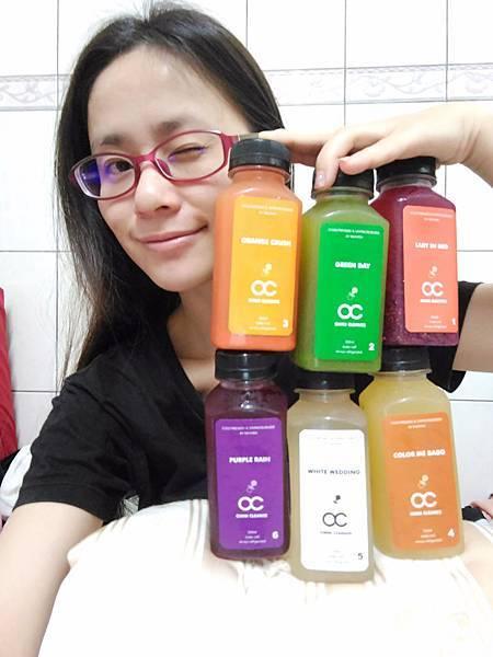 【飲品】Baby OC新鮮冷壓蔬果汁 體驗分享