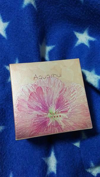 【彩妝】Aquashui 艾沛妮-無暇透亮氣墊粉餅(SPF5...