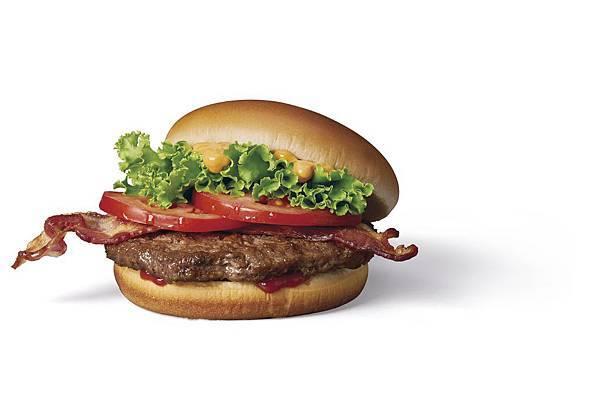 滿足老饕挑剔的嘴,麥當勞首度推出以安格斯牛肉打造的美食級漢堡,使用四盎司安格斯牛肉,油花分布均勻、吃起來鮮嫩多汁.jpg