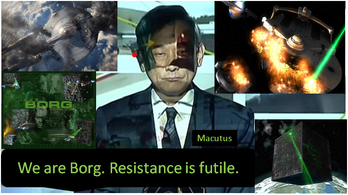 We are Borq Resistance is futile 3