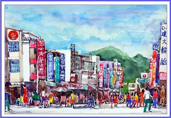 甲仙形象商圈水彩畫─陳正利DSC_0267-2
