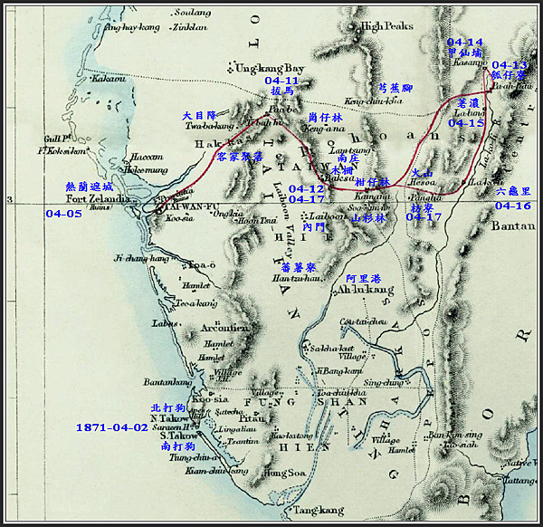 湯姆生南台灣旅行地圖-日期標示.png