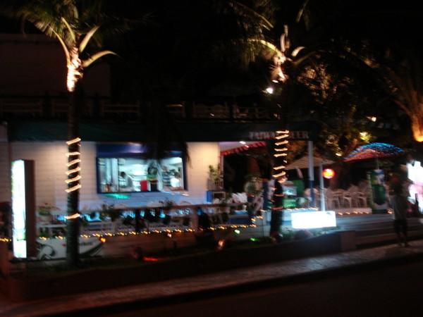 南濱夜市後的小酒吧
