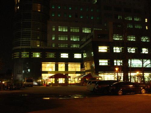 圖資大樓夜景