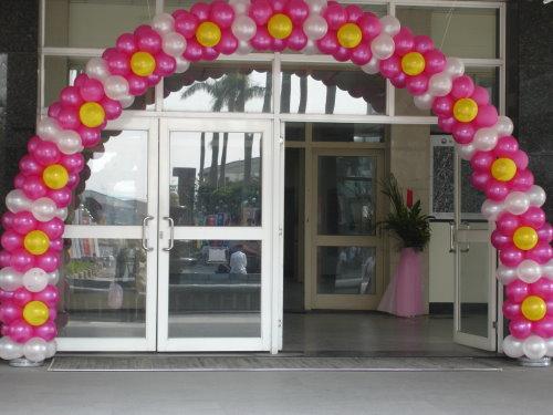 基中堂門口