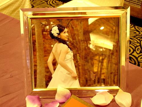 超喜歡這張的,但是新娘獨照 哈