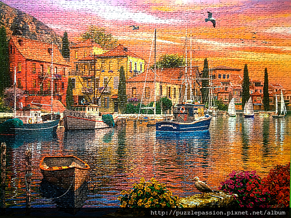 Harbor Sunset_ 完成圖.PNG