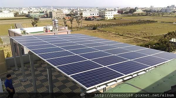 太陽能發電系統彰化和美