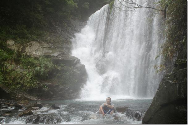 今天來北橫幽靈瀑布,還滿值得來的,不過不是秋天,應該六月來會更適合。