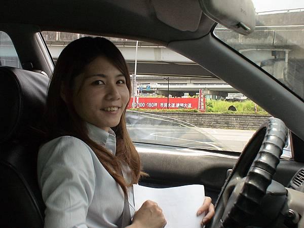 慶賀王小姐 完成March 基隆道路駕駛