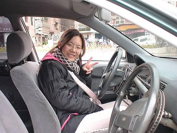 慶賀吳小姐 完成Nissan 中山道路駕駛