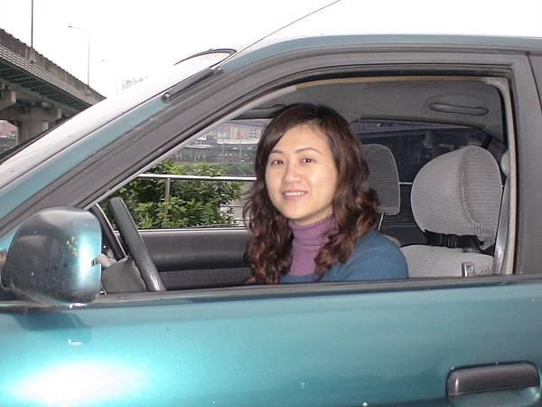 慶賀徐小姐 完成Nissan 劍潭道路駕駛