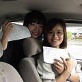 慶賀王小姐、吳小姐完成Nissan 新北投道路駕駛