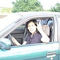 慶賀謝小姐 完成Nissan 圓山道路駕駛