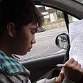 慶賀周柏岑 完成Nissan 石牌道路駕駛