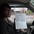 慶賀吳小姐 完成Nissan 木柵道路駕駛