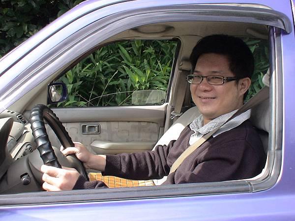 慶賀游先生 完成Nissan 文德道路駕駛