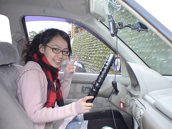 慶賀孫小姐 完成Nissan 新埔道路駕駛