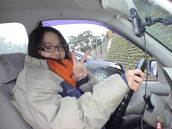 慶賀蔡小姐 完成Nissan 中正道路駕駛