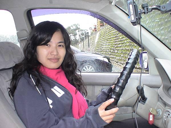 慶賀李小姐 完成Nissan 萬隆道路駕駛