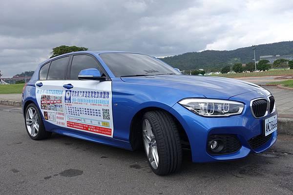 2015年添購全新BMW 125i M Sport頂級教練車-閔教練道路駕駛
