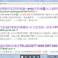 李x杰造假網站截圖