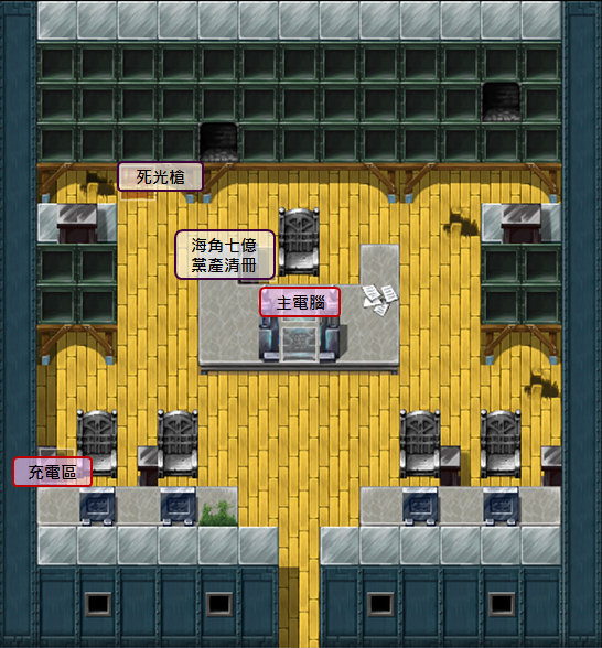 101電腦室地圖