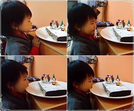 巧克力杏仁蛋糕-1