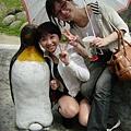 企鵝:好擠,是因為我矮嗎....(怒).....
