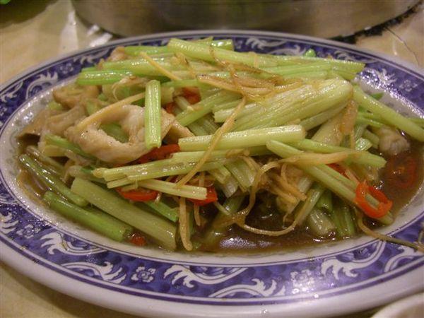 炒薑絲羊腸