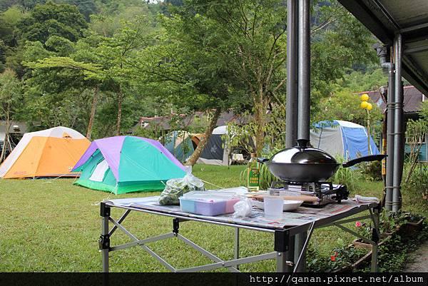 溪頭鳳凰谷渡假山莊露營區