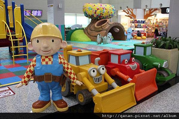 桃園機場 湯瑪士遊戲室